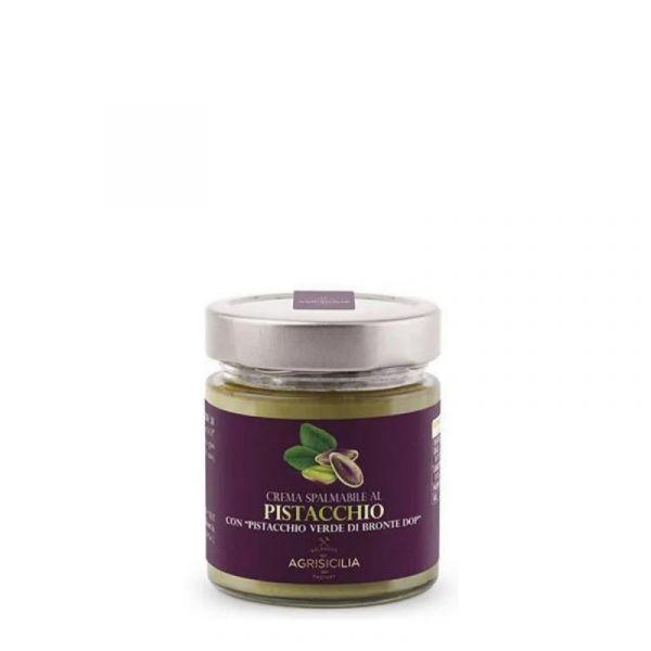 Agrisicilia Crema Spalmabile con Pistacchio Verde di Bronte D.O.P